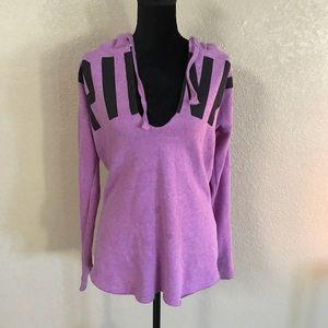 Victoria's Secret PINK purple pullover